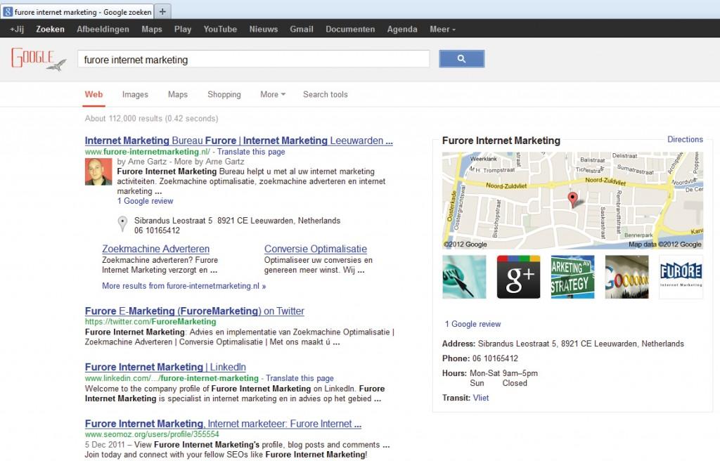 google zoekresultaten redesign
