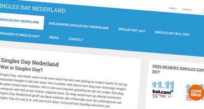 website singlesday nederland